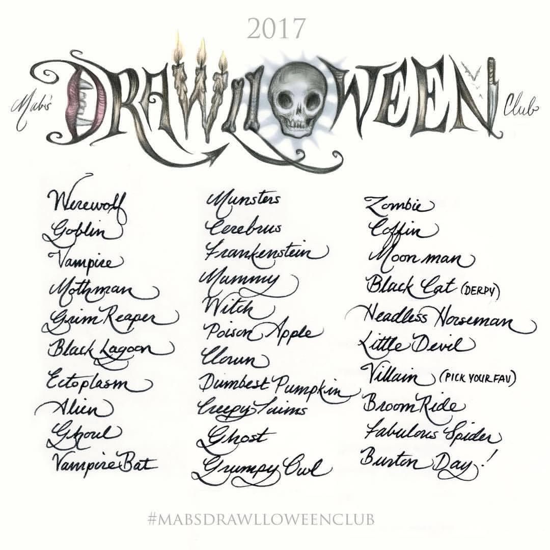 drawlloween2017