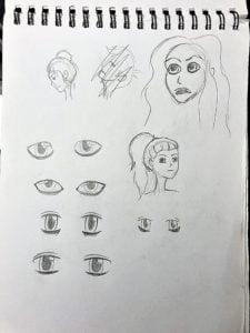 manga drawing sketch