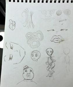 manga anime drawing sketch