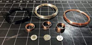 jewelry making craft copper pipe metal stamping impressart