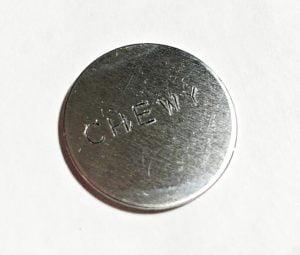 impressart enamel pen blank dog tag metal stamp stamping