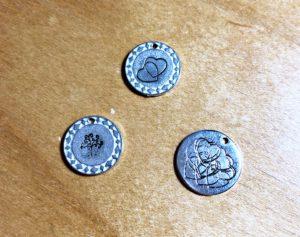 impressart metal stamping stamp blanks enamel fail