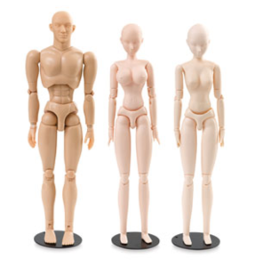 body kun manga manikins dick blick art reference models anatomical anime hollywood proportions figma archetype alternative